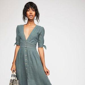 Free People Love of My Life Midi Dress
